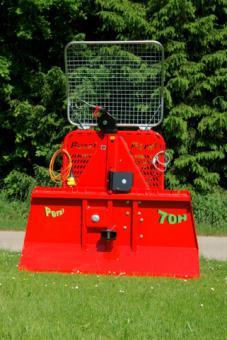 FSW 85H Forstseilwinde 8;5t  elektro-hydaulisch; Seil 90m/13mm