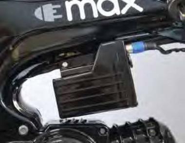 Zusatzakku für E-Max  für ca. 20km mehr Reichweite