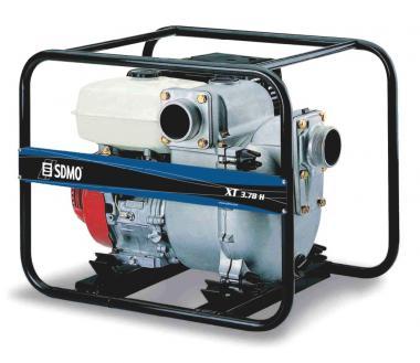 SDMO Schmutzwasserpumpe XT 3.78 H  Leistung: 80 m³ / Stunde, Honda Benzin GX240