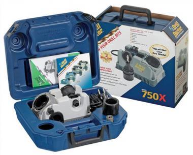Bohrschleifgerät Drill-Doctor DD-750X  2,5-19mm/Spitzenwinkel 118°-140°