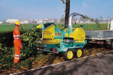 BIOMATICH 81 MTS Bioschredder  Dieselmotor 28PS; max. StammØ 12cm