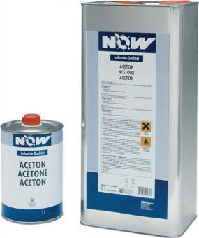 Aceton 1l Dose z.Entfetten NOW chemicals - 12 ST