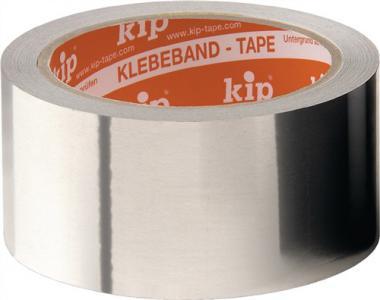 Aluminiumklebeband 345 m.Liner - 50 M / 1 RL  L.50m B.50mm KIP