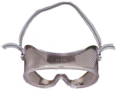 Vollsichtschutzbrille Ku.-Scheiben klar - 10 ST  m.Entlüftung ü.Korrektionsbrillen EN166