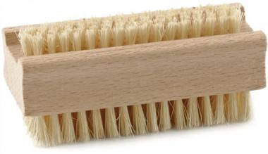 Handwaschbürste Holz doppelseitig Naturfibre