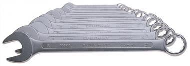 Ring-Maulschlüssel-Satz 12 tlg. SW 10 -.  32 mm Form A CV-Stahl/Promat