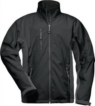 Softshell Jacke Kronos Gr.XXL  schwarz/grau  96%Polyester,4%Elasthan