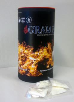 GRAM FIRE - Feueranzünder  100 Stück pro Dose