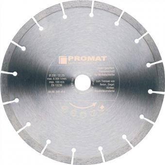 Diamanttrennscheibe D.125mm Bohrung 22,23mm  PROMAT Trockenschnitt