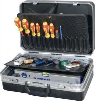 Werkzeugsortiment 46 tlg. f. Elektriker  inkl. DUSPOL ANALOG und DUTEST PRO
