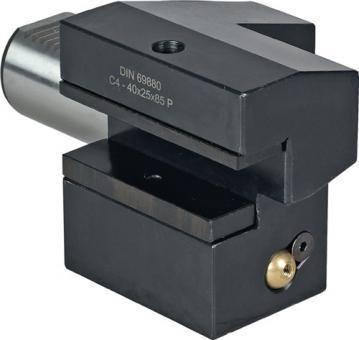 Axialwerkzeughalter Form  C 4 DIN69880 VDI20 li. Überkopf PROMAT