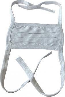 Gesichtstuch 100 % Baumwolle - 25 Stk  weiß wasch-/kochbar 90-95°C