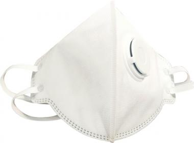 Atemschutzmaske 4140F SAFE AIR FFP3 NR D mit Ventil - 10 Stk  EN 149:2001+A1:2009  NITRAS