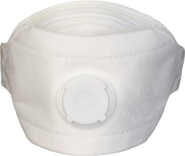Atemschutzmaske 4140 FP SafeAir EN 149 FFP3 NR D - 10 Stk  mit Ausatemventil, faltbar NITRAS