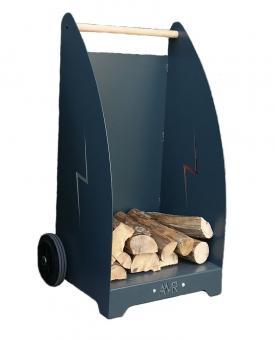 Brennholzwagen aus Stahl  für Holzscheite bis ca. 50cm. Länge