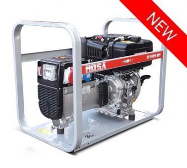 GE 6500 YDT Mosa Stromerzeuger  4/5,7 kVA, 230/400 V, Yanmar Dieselmotor
