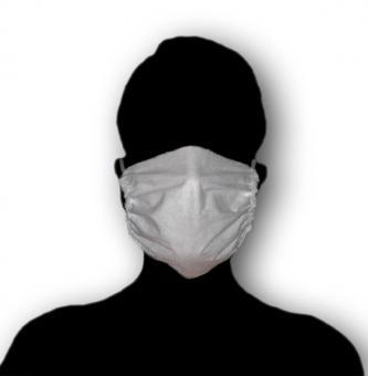 NANO-Vlies Gesichtsmaske, weiß, verschiedene Varianten - 100 ST