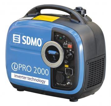 SDMO Stromerzeuger Inverter Pro 2000  2,0 kW / 230V, Yamaha Benzin