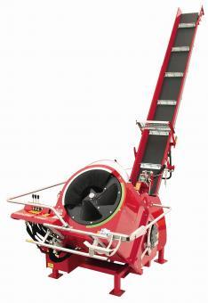SAT4-700PETH-O mit schwenkbarem 5m Förderband - 1 Stk  Zapf.+ E-Motor 9,2kW/400V, 25km/h Fahrwerk