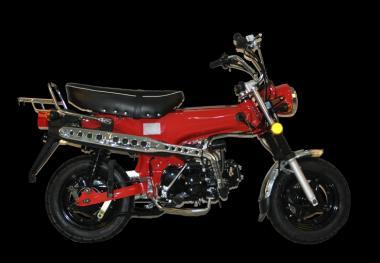 Skymax 50 E4 (DAX), Rot  Retro-Bike, 49cc / 2,4kW