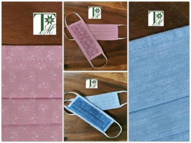 Mund-Nasen-Maske für Kinder, 100% Baumwolle - 1 ST  Hochwertige Verarbeitung, Waschbar bis 90°C, verschiedene Modelle