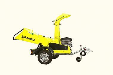 OPTION: 80 km/h Straßenfahrwerk f. ZAKANDRA Diesel  incl. Auflaufbremse und Feststellbremse