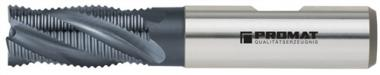 Schaftfräser DIN844 Typ HR D.18mm HSS-Co5  TiCN Schneiden kurz