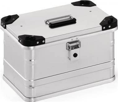 Aluminiumbox 29l L432xB335xH277mm  m.Gummidichtung 3,3kg m.Stapelecken
