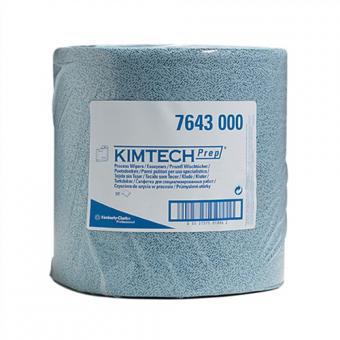 Putztuch Kimtech Prep 7643  blau perforiert L.380xB.340mm 500Abrisse