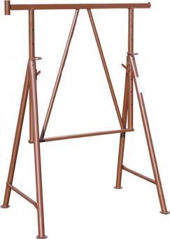 Gerüstbock Verstellbereich b. 1,95m BxH  1,1x1,2m Trgf. 1500kg Gewicht ca.18kg
