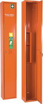 Verbandschrank orange SÖHNGEN 300x2000x200mm  Feinblech 1türig