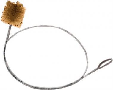 Rohrwischer D.130mm Stahldraht vermessingt Osborn