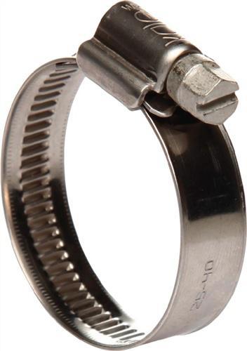 Schlauchschelle 12mm 60-80 W4 Edelstahl - 25 ST