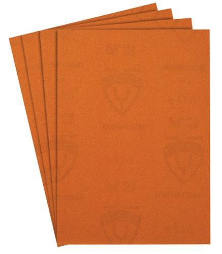 Schleifpapier L.280/B.230mm K.80 KLINGSPOR grob - 50 ST