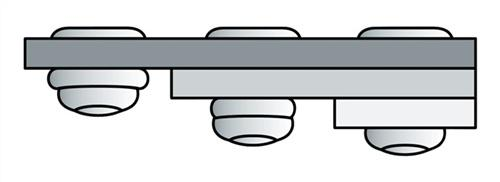 Blindniet Alu./Stahl 3,2x8mm dxl PolyGrip - 1000 ST