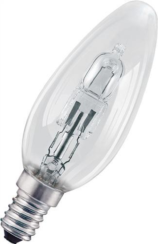 Halogenlampe 28W E14 Fassung 230V Kerzenform