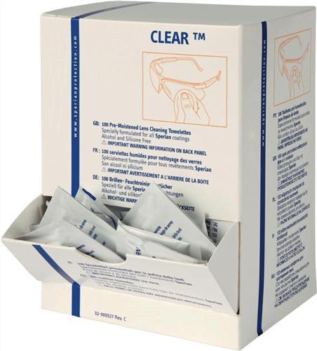 Reinigungstücher Clear Packung a 100 Stück
