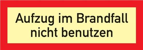 Brandschutzzeichen DIN 4066