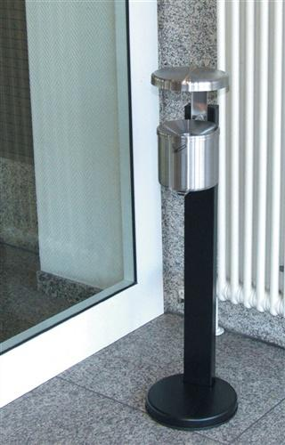 Ascher neusilber H.145xD.150mm