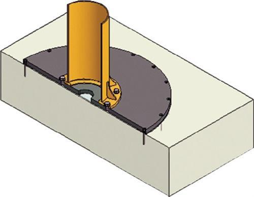 Verbundankersystem Plattendurchm.980mm