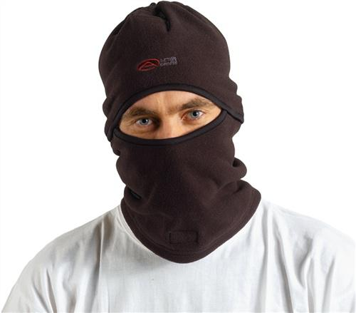 Sturmhaube Polyester schwarz 3in1