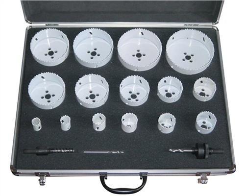 Zylindersägensatz 18tlg. D.19-114mm