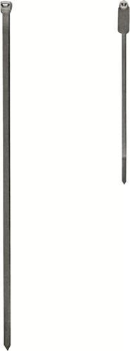 Kabelbinder 2,5x100mm a.PA transp. 100St./Btl. - 100 ST