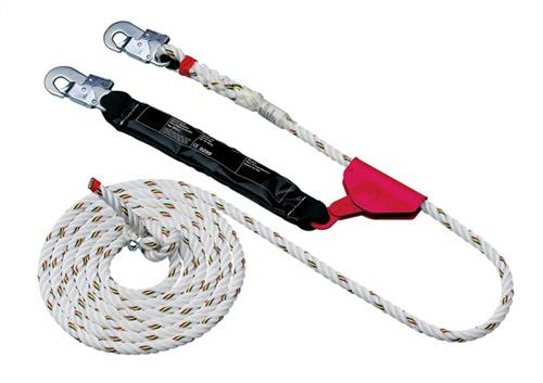 Auffanggerät MAS S 16 Seil-L.20m mitlaufend