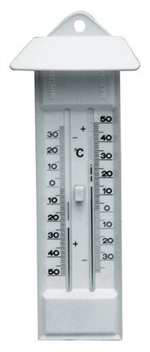 Thermometer Max./Min. m.Drucktaste Ku.-Gehäuse - 5 ST