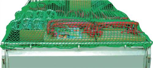 Containernetz Größe 3,5x6,0m Stärke 3,0mm grün