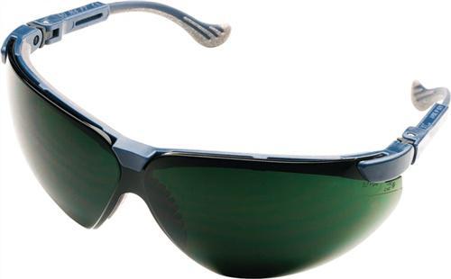 Schweißerbrille XC Rahmen blau Fogban-Scheibe