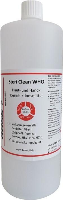 Hände-Desinfektionsmittel Boss Steri Clean 1 l - 1 L / 1 ST