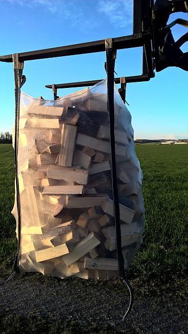 Big Bag für Brennholz 1.5m³, 5-seitig belüftet - 5 Stk