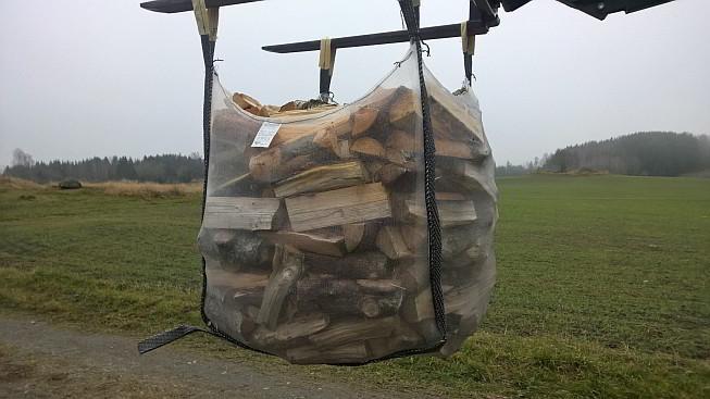 Big Bag für Brennholz 1,0m³, 5-seitig belüftet - 5 Stk